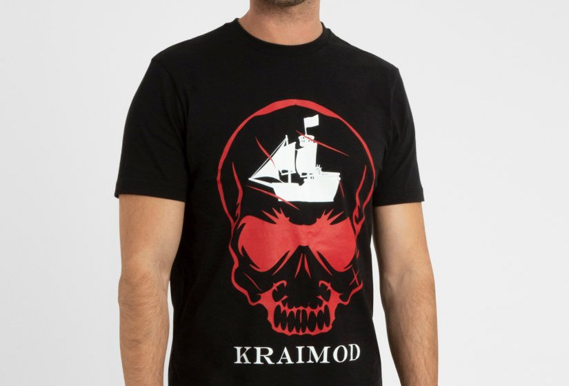T-Shirt Red Scull