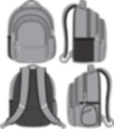 Backpack Adventure Kraimod Fashion Conte