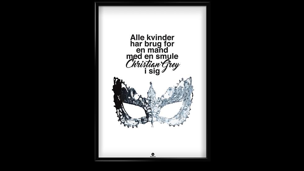Christian Grey - plakat
