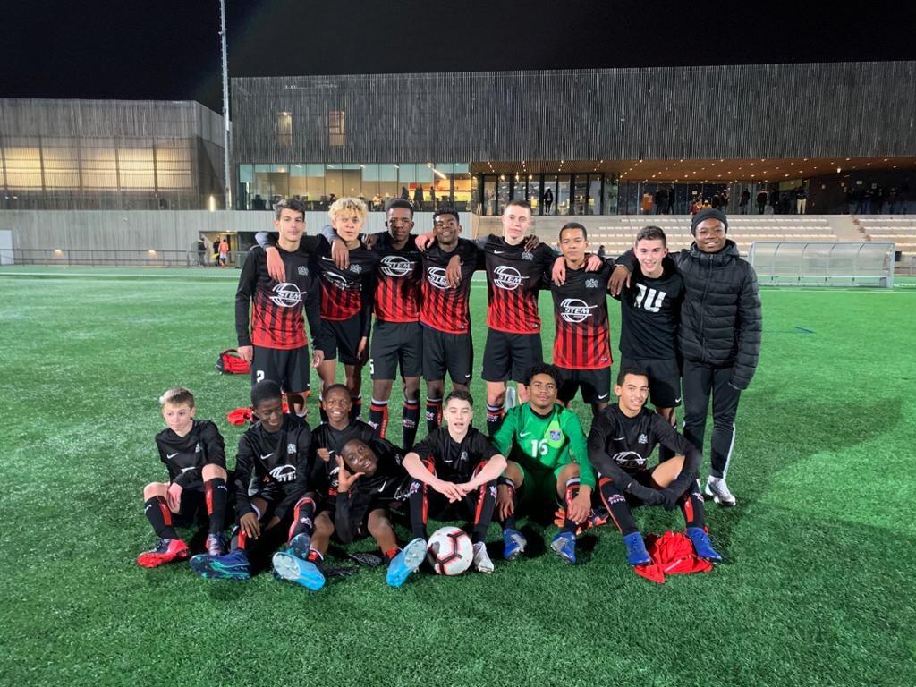 Victoire 2-0 des U15 Régionaux à l'ACBB