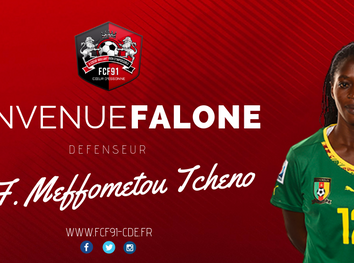 D1F. Falone Meffometou signe à Fleury