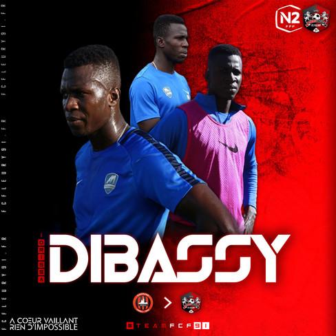 🔴 National 2 : Idrissa Dibassy, seconde recrue !