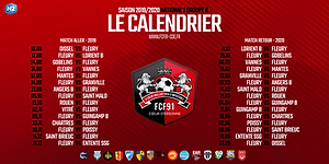 Calendrier National 2 Groupe A.Fc Fleury 91 Actualite