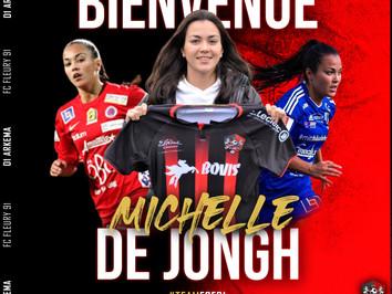 D1 Arkema : Michelle De Jongh signe à Fleury !