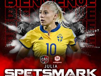D1F : Julia SPETSMARK s'engage !