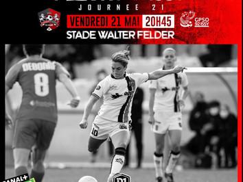 D1 Arkema (J21) : Dernier match à domicile de la saison