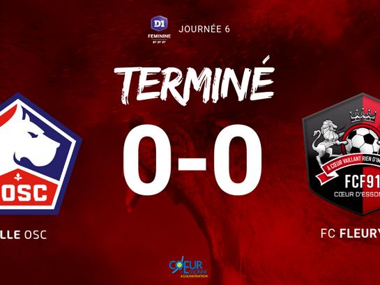 D1F. (J6) Match nul à Lille !