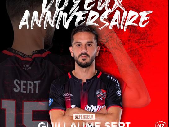 N2 : Joyeux anniversaire Guillaume !