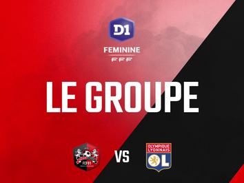 D1F. Le groupe pour la réception de Lyon (J19)
