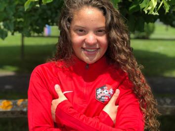 U15F. Tatiana Dos Santos en sélection Portugaise