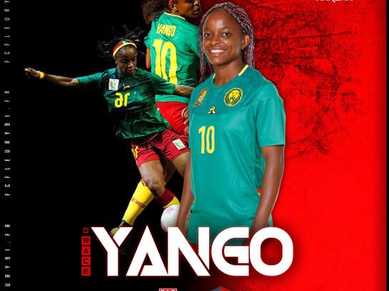 🔴 D1 Arkema : Grace Yango, quatrième recrue du FCF91