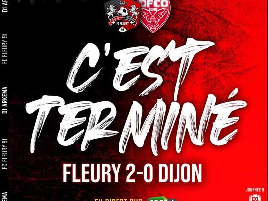 D1F : Fleury enchaîne contre Dijon (J9)
