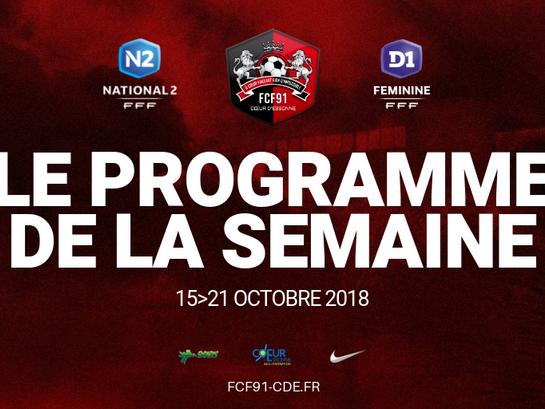N2-D1F. Programme de la semaine
