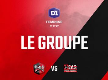 D1F. Le groupe pour la réception de Guingamp (J21)
