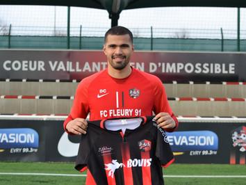 N2 🔴 Dimitry Caloin signe au FC Fleury 91
