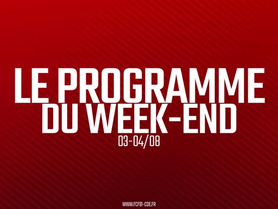 CLUB. Le programme du week-end