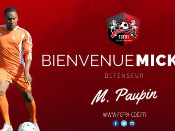 N2. Mickaël Paupin signe à Fleury !