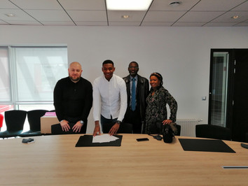 Idrissa Dioh signe pro !