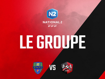 N2. Le groupe pour Feignies Aulnoye (J24)