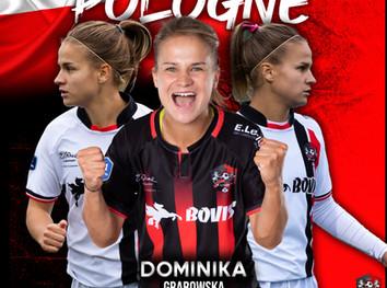 D1F : Dominika GRABOWSKA en sélection