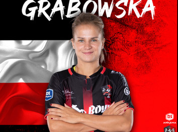 ITW : D. GRABOWSKA (D1F)