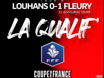 CDF 🏆 LOUHANS 0-1 FLEURY (T8)