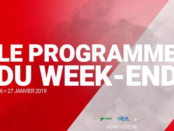 CLUB. Programme du week end