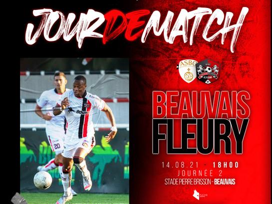 NATIONAL 2 (J2) : Beauvais - Fleury en direct !