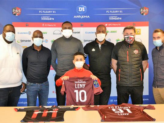 CLUB : Leny Grebot (U13) signe au FC Metz