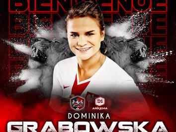 D1F : Dominika GRABOWSKA s'engage !