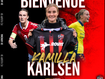 D1 Arkema : Kamilla Karlsen s'engage à Fleury !