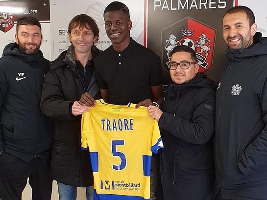 U19N. Madibiramou Traoré signe à Sochaux !