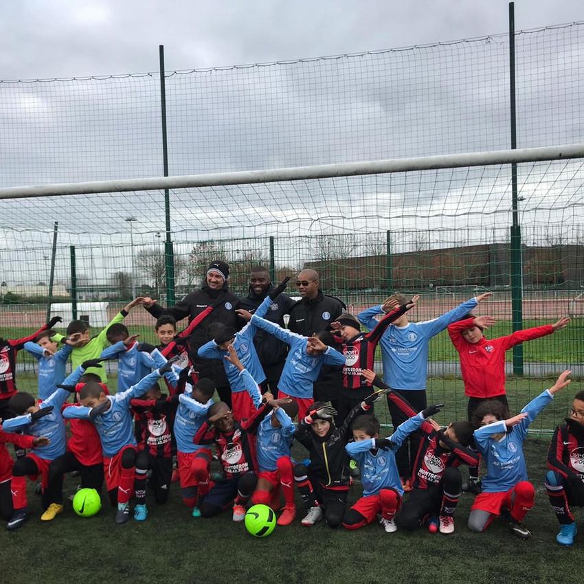 Défaite des U8 B sur le terrain de Brétigny (6-3). Bravo à nos jeunes pour leur bel état d'esprit.