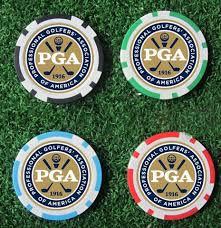 balle marqueur poker chip logoté golf matériel produit logo planete golf