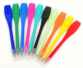 crayon plastique logoté golf matériel produit logo planete golf