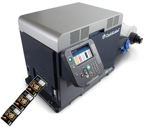 QUICKLABEL QL-300 Toner Bazlı Masaüstü Renkli Etiket Baskı Makinesi