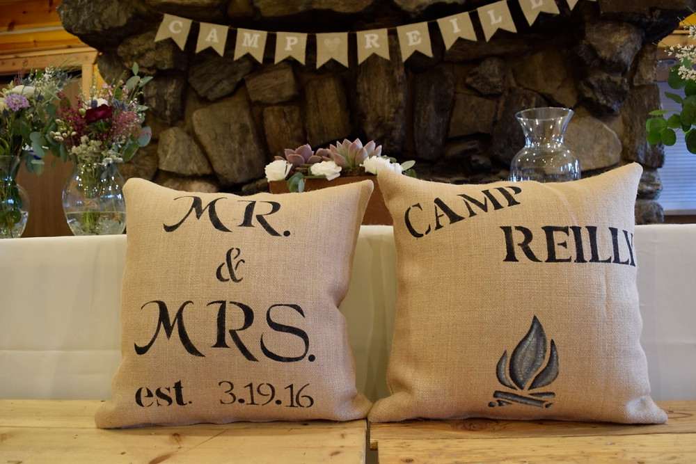 Custom Wedding Pillows
