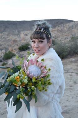 Le Haut Desert Aerie Wedding