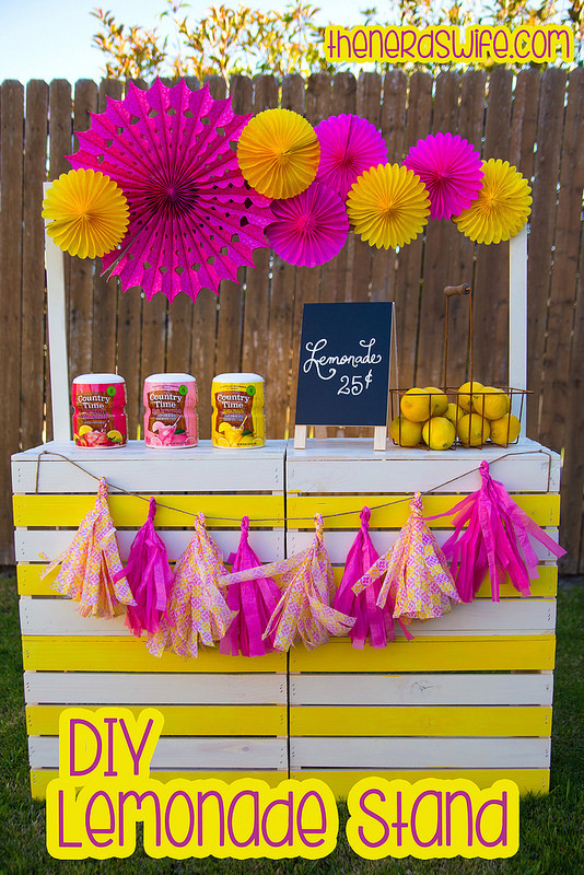 DIY Lemonade Stand or Bar