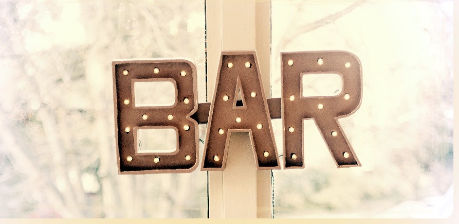 DIY Bar Marquee Sign
