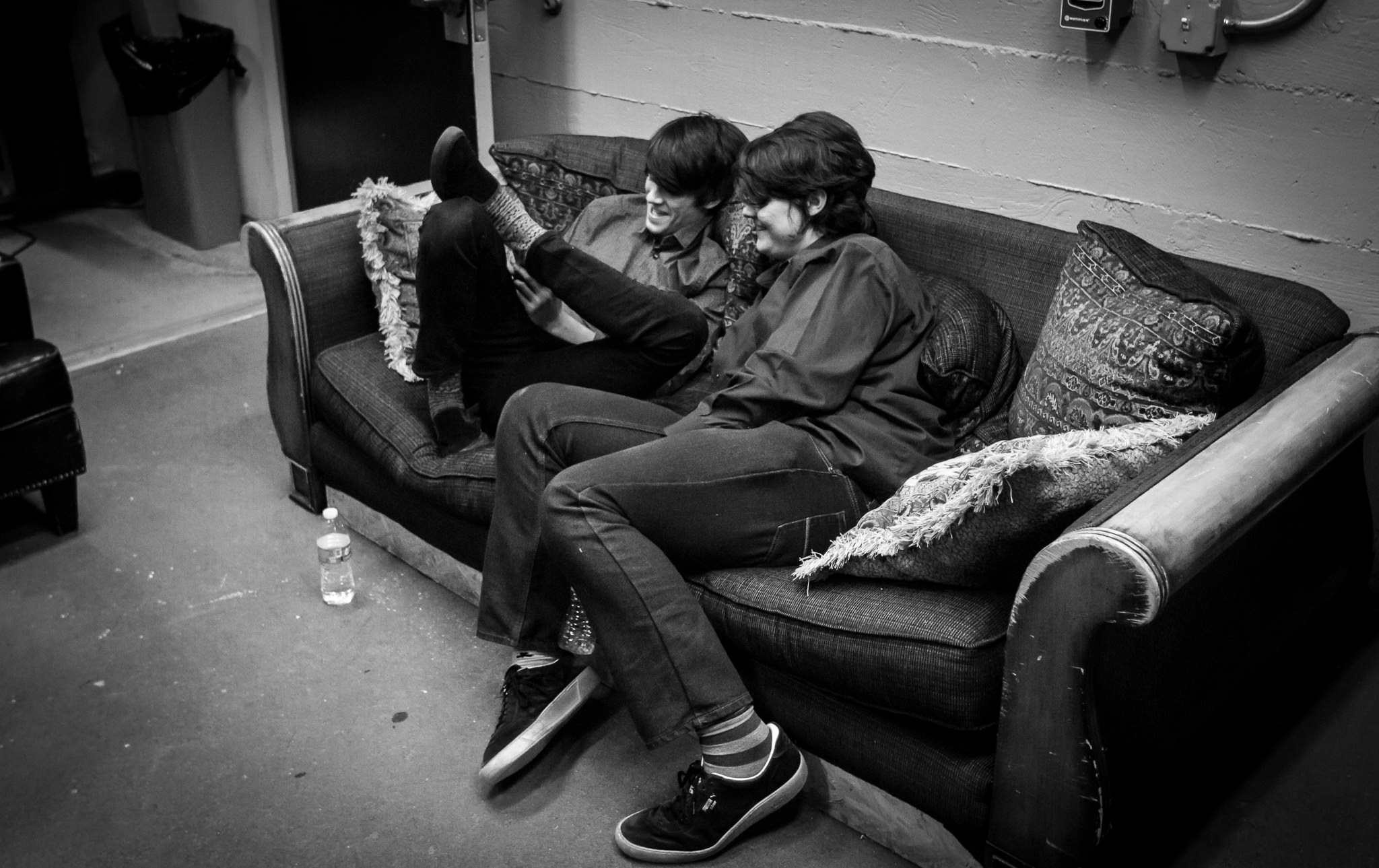 Ian & Colin Goofing