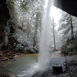 Cumberland Plateau Waterfalls
