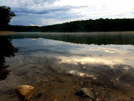A visit to Thoreau's Walden Pond