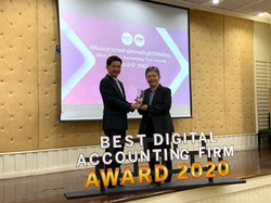 NAT received a Silver award from Department of Business Development. At the Best Digital Accounting