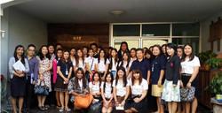 DBD&Students of Sripatum University