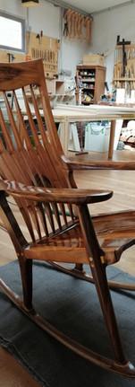 Rocking chair noyer