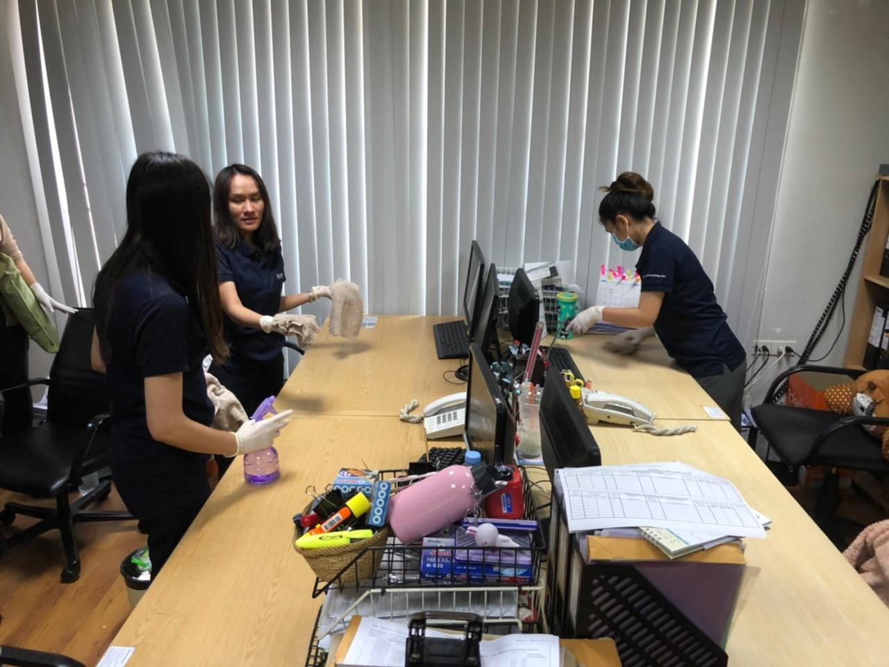 ทีมงานNAT Bangkok ร่วมกันทำ Big cleaning day เพื่อสุขอนามัยไร้ Covid-19