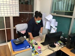 NAT Bangkok team join Big Cleaning Day activity for cleaning And preventing the spread of the COVID-
