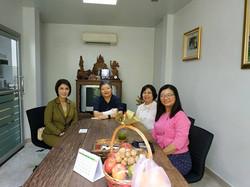 DBD visit NAT Office