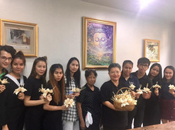 Cremation flower-crafting workshop